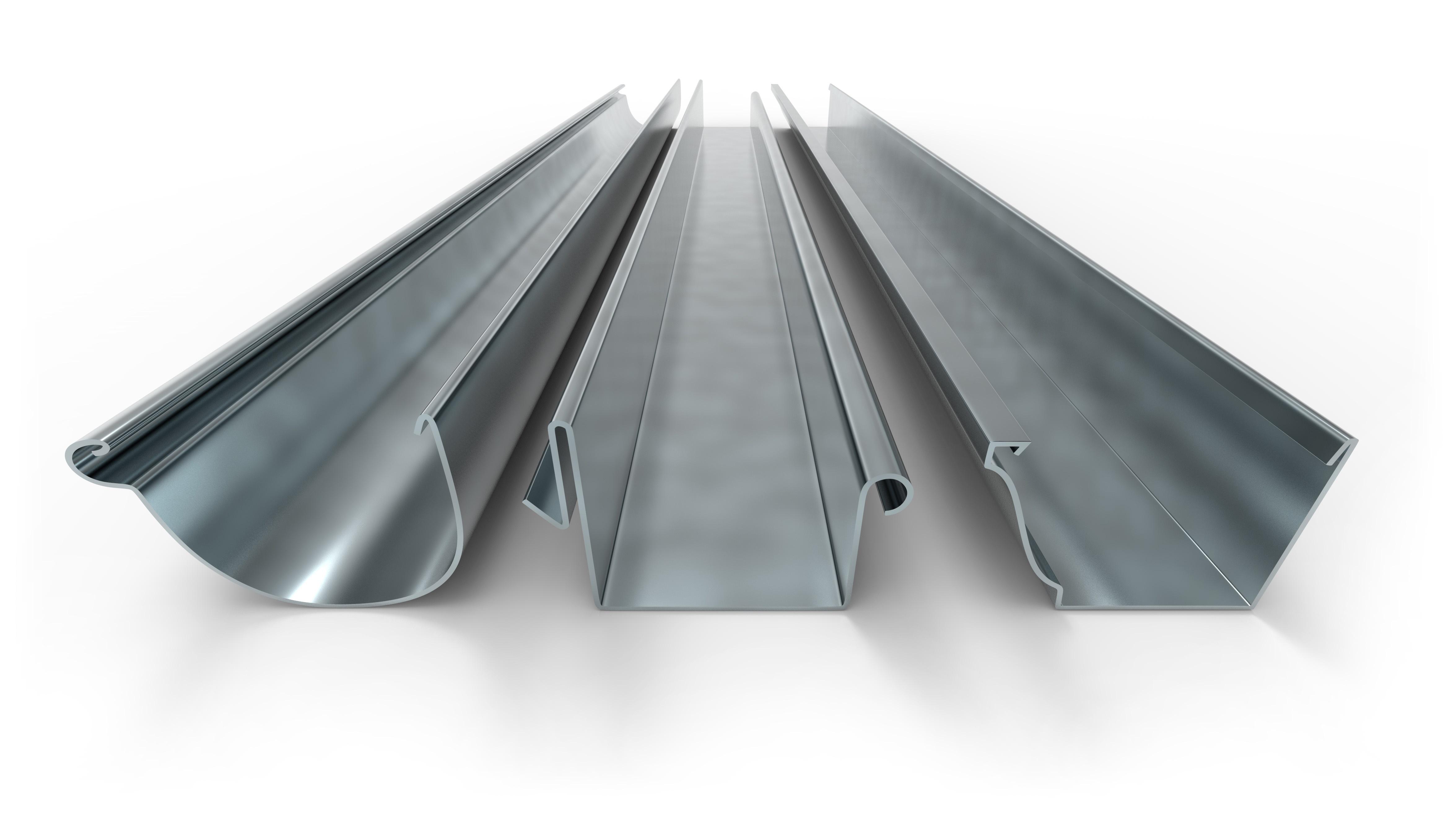 Seamless Aluminum K-Style Rain Gutters